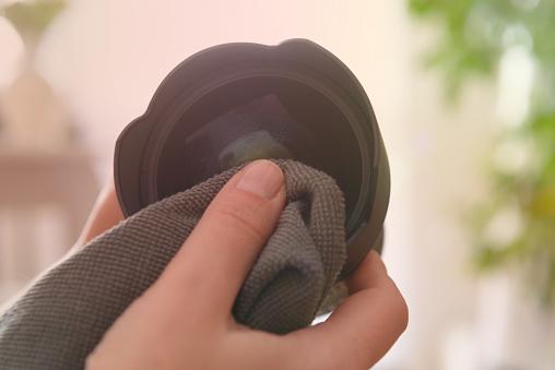Clean a Camera Lens