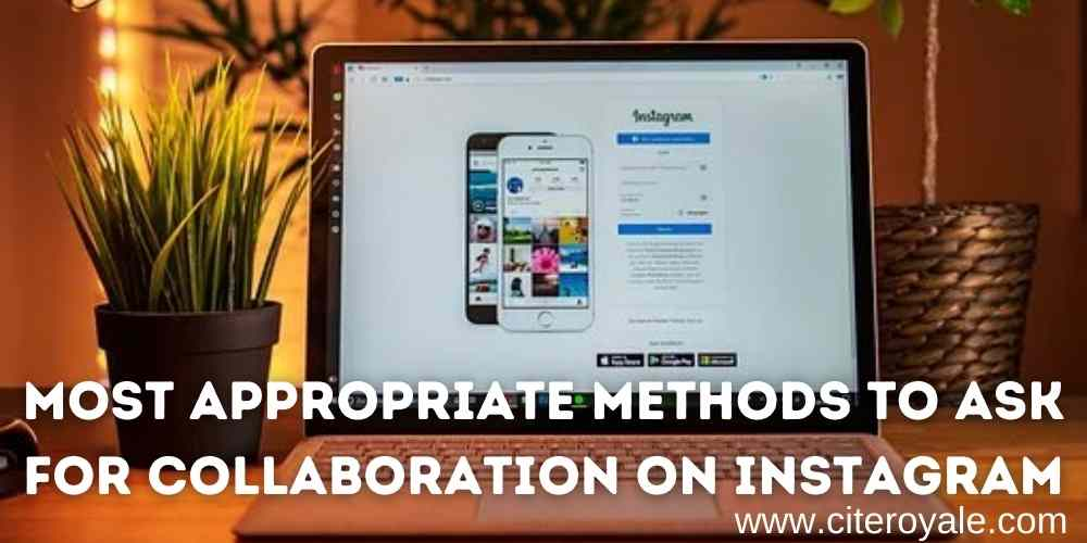 How to ask for collaboration on Instagram