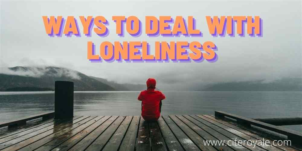 Signs of loneliness and how to deal with it